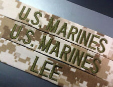 US Marines Marpat Desert Camo Name Tape Custom Made