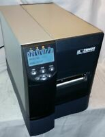 Zebra ZM400 Barcode Label Printer Thermal USB Parallel ZM400-2001-0100T AS IS