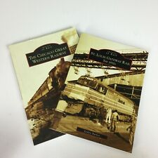 2 Images of Rail Books St Louis Gateway Rail Chicago Great Western Railway Train