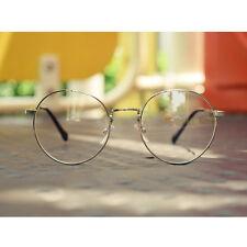 1920s Vintage eyeglasses oliver retro round 15R3 Silver frames Kpop peoples