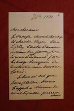 ✒ L.A.S. Henry BAUËR fils de Dumas à Aurélien SCHOLL - recommandation