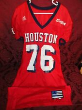 2000 University of Houston Cougars UH Game Used Jersey # 76 Rex Hadnot