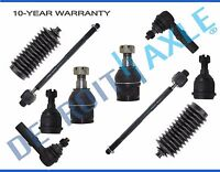 For 2006-2010 Dodge Ram 2500 3500 All 4 Front Ball Joints + All 4 Tie Rods 2WD