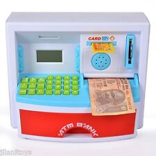ATM Interactive Learning Educational Bank with Personalized ATM Card
