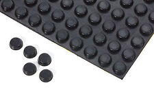 4 Gummifüße schwarz  ca  4 mm x  ca 12 mm  selbstklebend