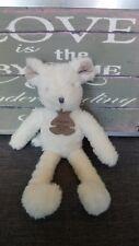 Peluche doudou souris blanche taupe Sweety Histoire d'ours en etat neuf + cadeau