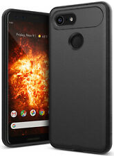 For Google Pixel 3 XL   Caseology [Vault] Black TPU Shockproof Protective Cover