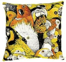 """PARROTS CNEUT 18"""" 45CM TAPESTRY CUSHION COVER 5500, 100% COTTON, MADE IN BELGIUM"""