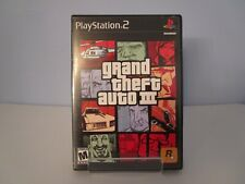 New listing Grand Theft Auto Iii (Sony PlayStation Ps2) Complete Black Label