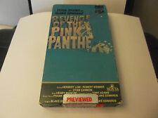 Blake Edwards REVENGE OF PINK PANTHER 1982 VHS Peter Sellers Music Henry Mancini