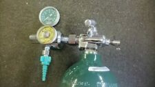 M9 Medical Oxygen Cylinder Tank Empty With Oxygen Regulator