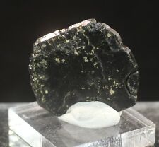 LARGE WELL-FORMED ILMENITE CRYSTAL: GIRARDVILLE, QUEBEC CANADA- NEW FIND
