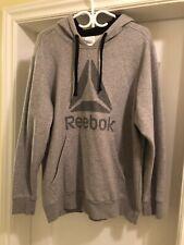 Reebok Grey Delta Sweater - Size XL (Never Worn)