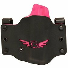 SCCY SC1003 CPX Holster CPX-1/CPX-2 Kydex Black w/Pink Wing Logo