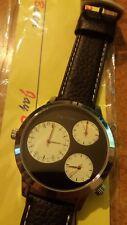 orologio Jay Baxter tre fusi orari - cinturino pelle - garanzia due anni - a1148