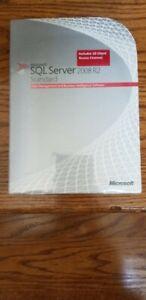 Microsoft SQL Server 2008 R2 Standard,SKU 228-09180,32/64-bit,10 CAL,Full Retail