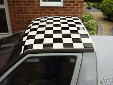 Black vinyl checker chequer roof kit golf mk1 mk2 mk3
