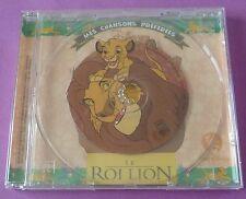 RARE CD WALT DISNEY LE ROI LION MES CHANSONS PREFEREES 4 TITRES