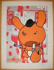 2005 Ultraviolence - Clockwork Orange Silkscreen Art Print S/N by Frank Kozik
