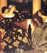 Cowper Frank Cadogan Venetian Ladies Listening To A Serenade 5 A4 Print