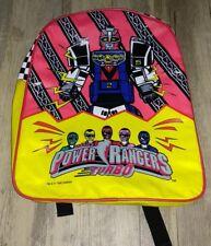 1996 Saban's Power Rangers Turbo Megazord Vintage Backpack