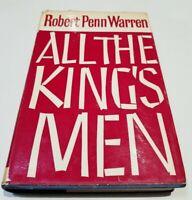 ALL THE KING'S MEN by Robert Penn Warren Second Edition 1960 VTG