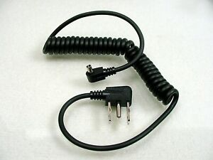 Sunpak coiled (4') 3-prong to PC Flash sync cable 120J/622/611/555   New   $24  