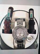 new Authentic Womens Joe Rodeo rio chronograph  1.25 Ct.aprx.Diamond Watch jro1