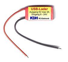 USB-Lader 5 Volt / 3 Ampere für Handy, FPV, GoPro usw.