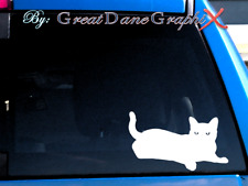 Cat Style #1 -Vinyl Decal Sticker -Color -High Quality