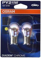 DIADEM CHROME PY21W Halogen-Signallampe Blinklicht 7507DC-02B 12V PKW 2 Stück