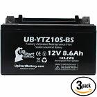 3x Battery for 2009 - 2012 Aprilia RSV4 R, Factory 1000CC