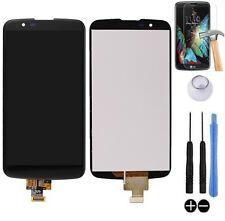 ECRAN LCD + VITRE TACTILE BLOC COMPLET ASSEMBLE POUR LG K10 K420N DUAL 4G NOIR