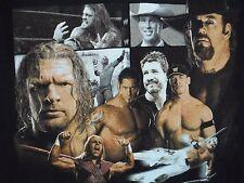 WWE Smack Down Raw Wrestling T Shirt Medium  2005 Mens John Cena Batista