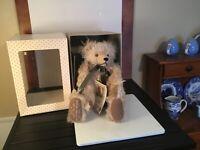 Hermann Teddy Bear Millennial Limited Edition w/ Time Capsule Beige 1348 Of 2000