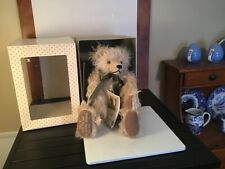 Hermann Millennium Bear With Time Capsule Shaggy Mohair Limited Edition of 2000