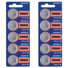 10 SONY CR2025 DL2025 CMOS Lithium 3V Watch Battery Exp 2025 Ships FREE from USA
