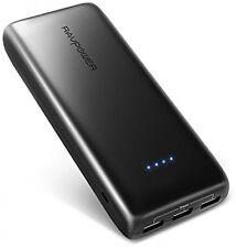Portable Charger RAVPower 22000mAh 5.8A Output 3-Port Power Bank External Pack