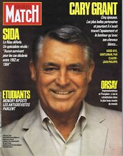 Paris Match n°1959 du 12/12/1986 mort de Cary Grant Grèves Devaquet Guitton SIDA