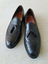 Allen Edmond Manchester Formal Black Shoes SZ  13 AA