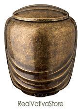 Urna cineraria in bronzo Glitter - Linea Pelike (cm 11)