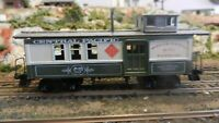 Roundhouse MDC HO Central Pacific Drovers Caboose, Upgraded