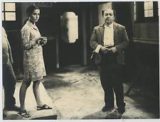 Italia, RAI - Franco Angrisano e Valeria Ruocco  Vintage silver print Tirage a