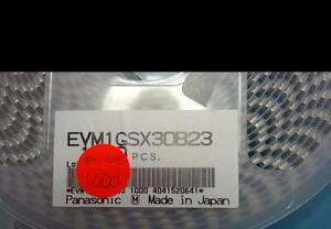 LOT OF (1,000) NEW PANASONIC EVM1GSX30B23 OPEN FRAME,CERMET,4MM SQ,2K,25%, TRIM