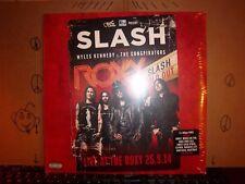 Slash Live Guns n Roses Factory Sealed! MINT Con. Record 3 LPs Album Vinyl 773