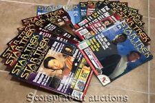 HUGE LOT STAR TREK Official Fan Magazines 1999 2000 2001 2002 2003 16 TOTAL