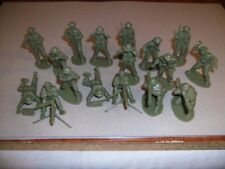 Airfix1/32 ScaleVintage WWIIBritishInfantry Support Group Figures + 2 mgs