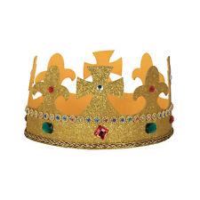 Kings Crown Tessuto Costume Accessorio costume di scena