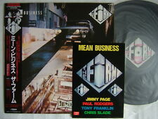 THE FIRM MEAN BUSINESS / WITH STICKER LED ZEPPELIN