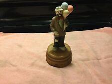 *RARE* Flambro porcelain figurine Emmett Kelly Jr Hobo with Balloons Lot# 0300